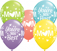M(Heart)M Youre The Best (50pcs) - 11 Inch Balloons